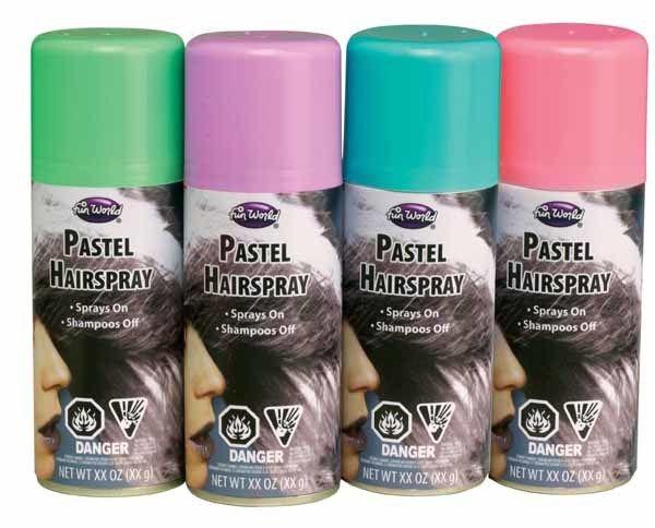 Baby Blue Pastel Hairspray 2 OZ