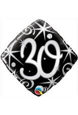 "30 Elegant 18"" Mylar Balloon"