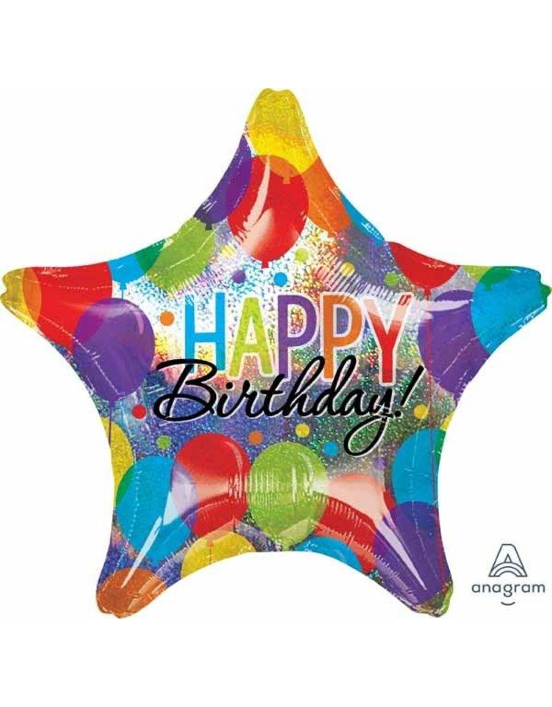 Birthday Bash Jumbo Mylar Balloon