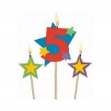 #5 Decorative Pick Candles