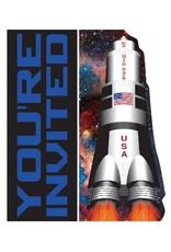 Space Blast Invites (8)
