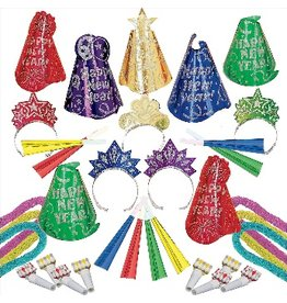 New Years Evening Sparkle Jewel Tones Kit For 50 People