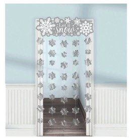 Winter Doorway Curtain