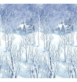 Winter Wonderland Scene Setters Plastic Room Roll