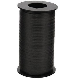 Black Curling Ribbon 500yds