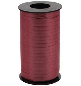 Burgundy Curling Ribbon 500yds