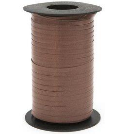 Chocolate Curling Ribbon 500yds