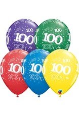 "11"" #100 Around Balloons (Without Helium)"