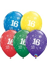 "11"" #16 Around Balloons (Without Helium)"