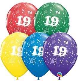 "11"" #19 Around Balloons (Without Helium)"