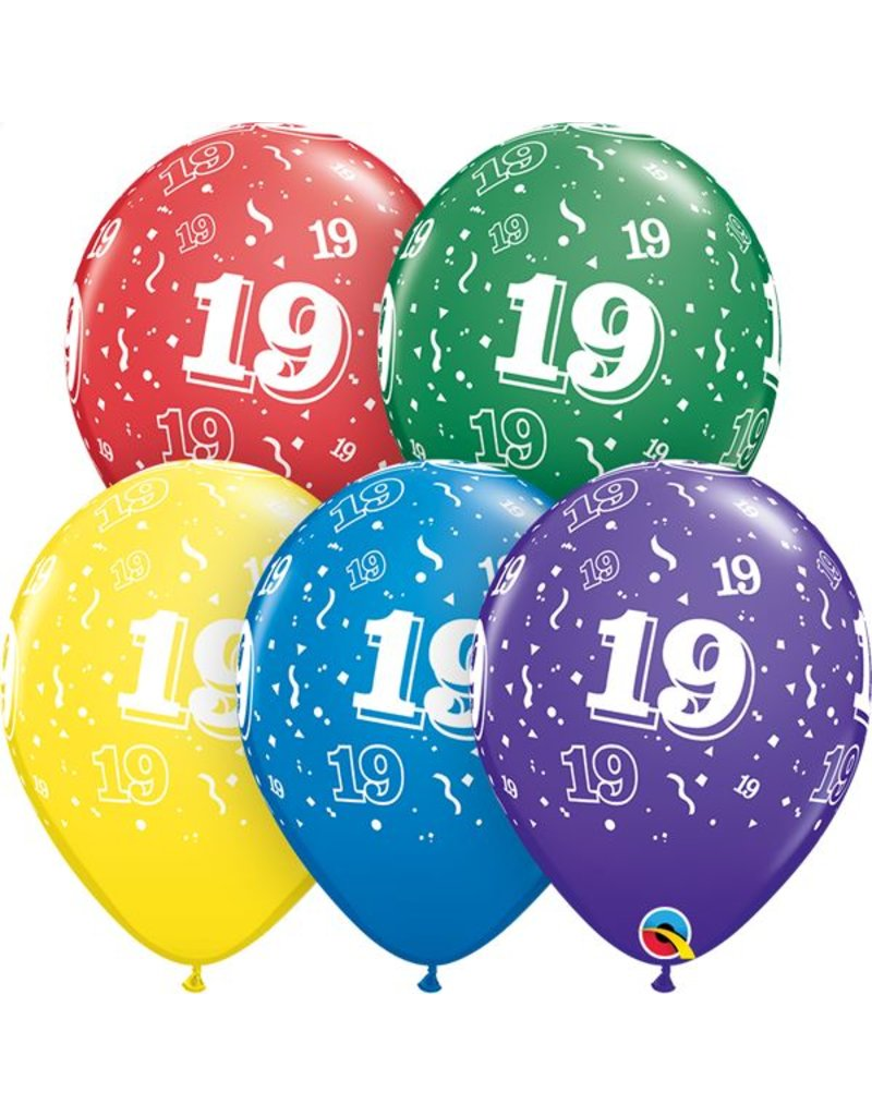 """11"""" #19 Around Balloons (Without Helium)"""