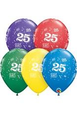 "11"" #25 Around Balloons Uninflated"