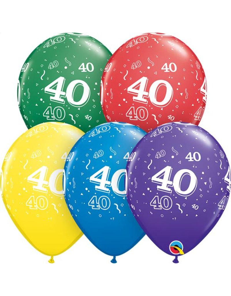 """11"""" #40 Around Balloons (Without Helium)"""