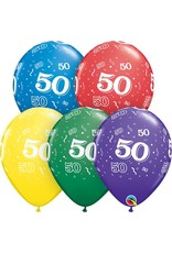 "11"" #50 Around Balloons Uninflated"