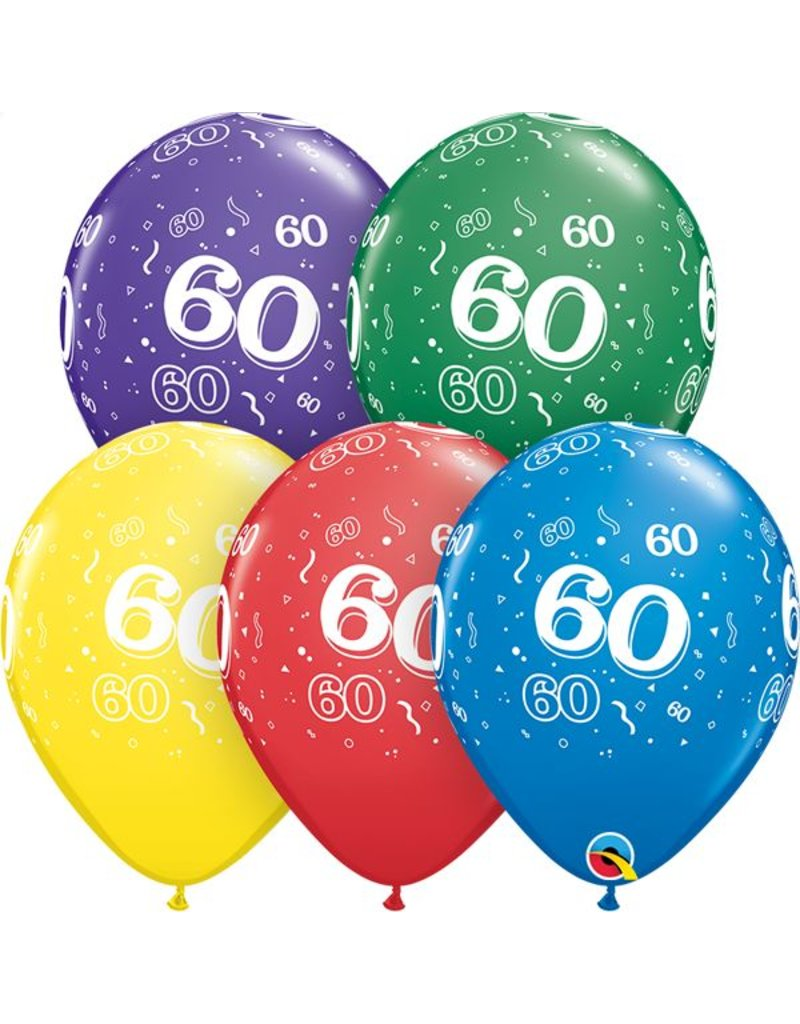 """11"""" #60 Around Balloons (Without Helium)"""
