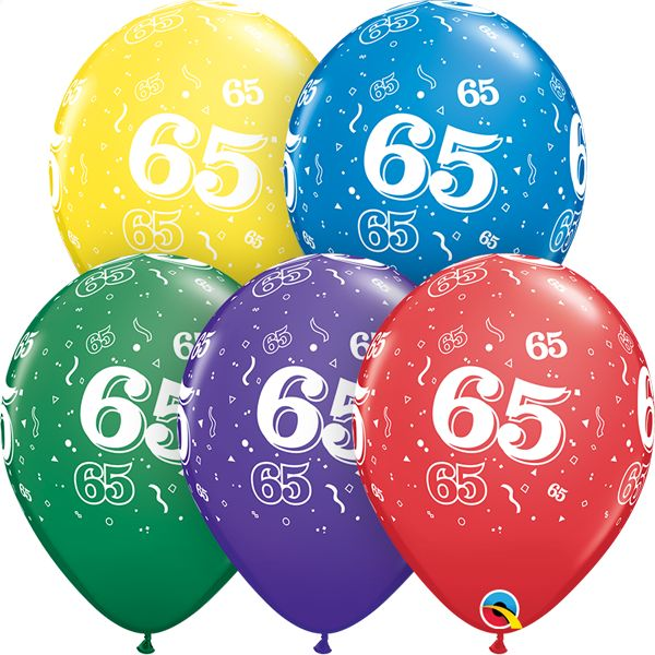 """11"""" #65 Around Balloons (Without Helium)"""