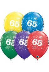 "11"" #65 Around Balloons Uninflated"