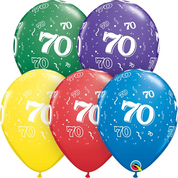 """11"""" #70 Around Balloons (Without Helium)"""
