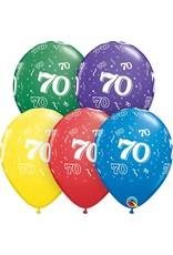 "11"" #70 Around Balloons Uninflated"