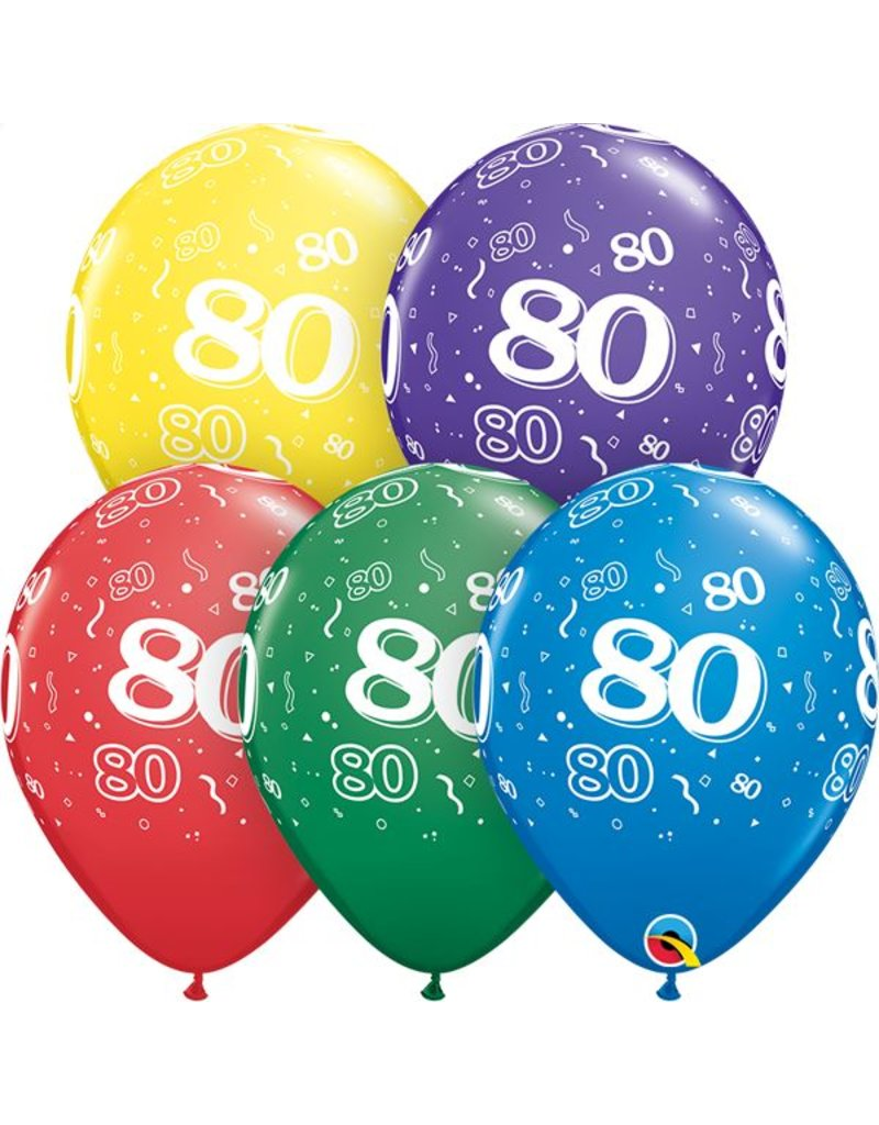 """11"""" #80 Around Balloons (Without Helium)"""