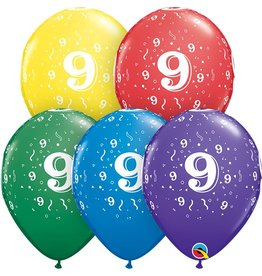 """11"""" #9 Around Balloons (Without Helium)"""