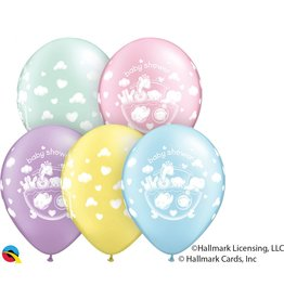 "11"" Adorable Ark Baby Shower Balloons (Without Helium)"