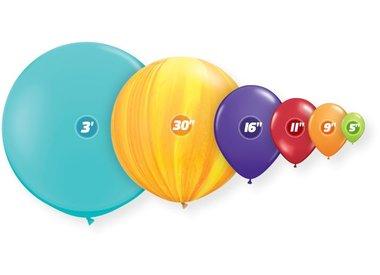 "5"" Latex Balloons"