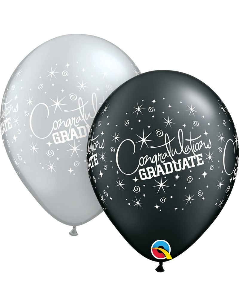 """11"""" Congratulations Grad Balloon (Without Helium)"""