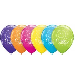 """11"""" Retirement Smile Balloon (Without Helium)"""