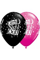"11"" Girls Night Out Stars Balloon (Without Helium)"