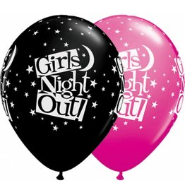 "11"" Girls Night Out Stars Balloon Uninflated"