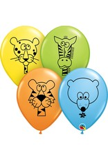 "11"" Jungle Animals Balloon (Without Helium)"