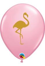 "11"" Pink Flamingo Balloon (Without Helium)"