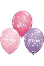 "11"" Princess Balloon (Without Helium)"