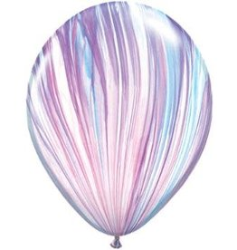 "11"" Superagate Fashion Balloon Uninflated"