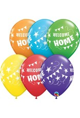 "11"" Welcome Home Pennant Banner Balloon ((Without Helium))"