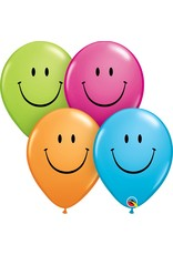 "11"" Smile Face Balloon Uninflated"