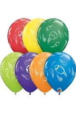 "11"" Sports Balls Balloon Uninflated"