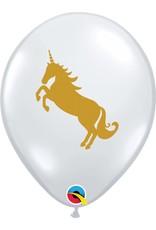 """11"""" Unicorn Balloon Uninflated"""