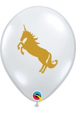 "11"" Unicorn Balloon (Without Helium)"