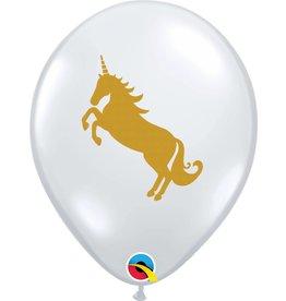 """11"""" Unicorn Balloon (Without Helium)"""
