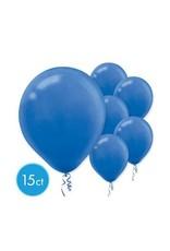 """Bright Royal Blue 11"""" Latex Balloons (15)"""