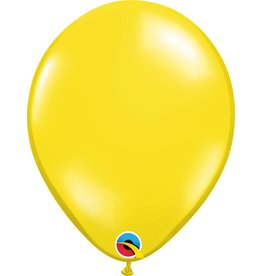 "11"" Citrine Yellow Latex Balloon (Without Helium)"