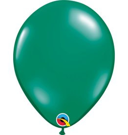 "11"" Emerald Green Latex Balloon Uninflated"