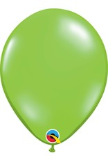 """11"""" Jewel Lime Latex Balloon (Without Helium)"""