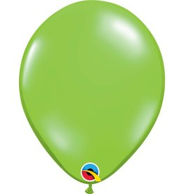 "11"" Jewel Lime Latex Balloon Uninflated"