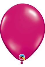 "11"" Jewel Magenta Latex Balloon (Without Helium)"