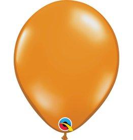 "11"" Mandarin Orange Balloon Uninflated"