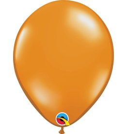 "11"" Mandarin Orange Latex Balloon Uninflated"