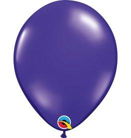 "11"" Quartz Purple Balloon Uninflated"